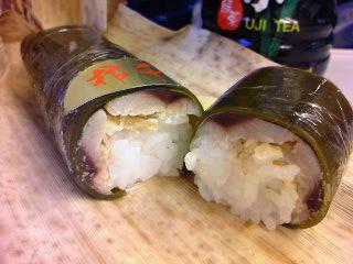 秋刀魚押し寿司弁@新大阪