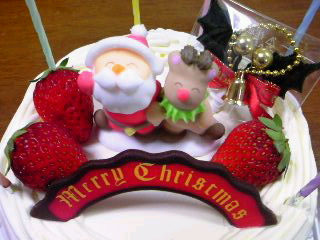 宝塚OKINAの2011年クリスマスケーキ
